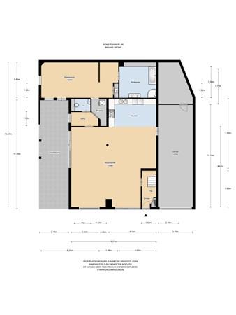 Floorplan - Kometensingel 88, 1033 BX Amsterdam