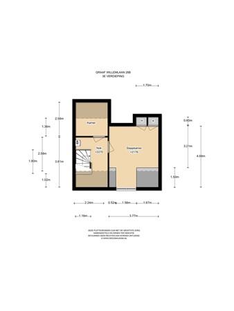 Floorplan - Graaf Willemlaan 28B, 1141 XL Monnickendam