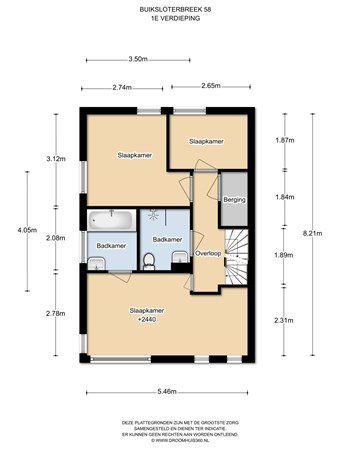 Floorplan - Buiksloterbreek 58, 1034 XD Amsterdam