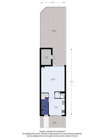 Floorplan - Loefzijde 23, 1034 KW Amsterdam