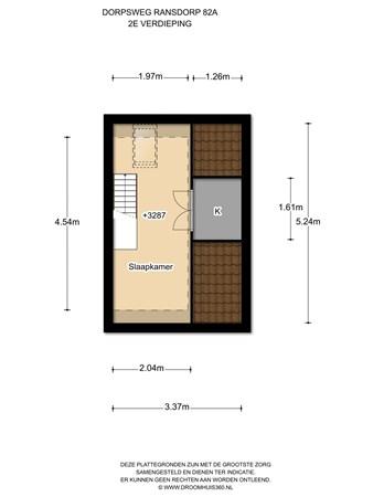 Floorplan - Dorpsweg Ransdorp 82, 1028 BS Amsterdam