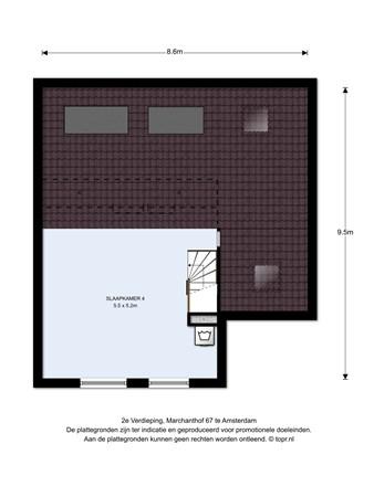 Floorplan - Marchanthof 67, 1067 MG Amsterdam