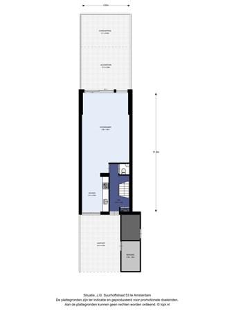 Floorplan - J.G. Suurhoffstraat 53, 1067 VL Amsterdam