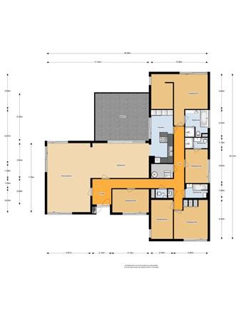 Floorplan - Willem van Weldammelaan 75, 1082 KT Amsterdam