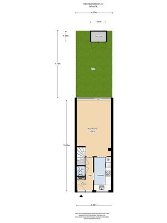 Floorplan - Mechelensingel 37, 1066 PA Amsterdam