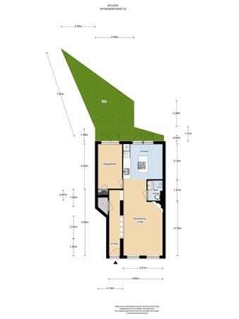 Floorplan - Crynssenstraat 32huis, 1058 XW Amsterdam