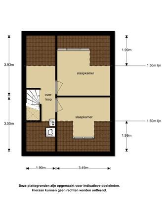Floorplan - Buytenweg 8, 1111 TB Diemen