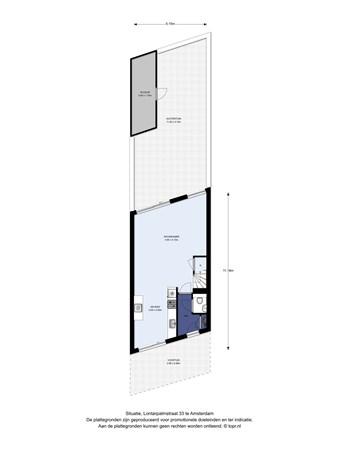 Floorplan - Lontarpalmstraat 33, 1104 DL Amsterdam
