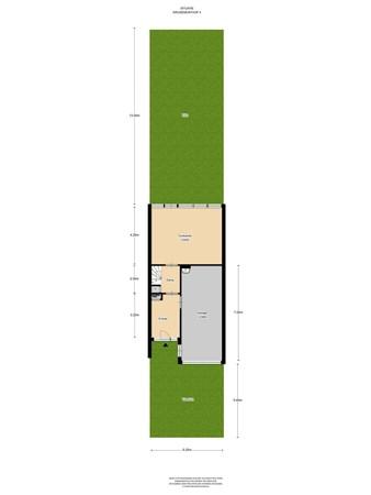 Floorplan - Kruizemunthof 4, 1115 DZ Duivendrecht