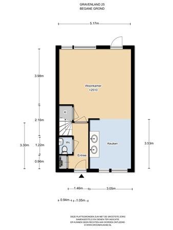 Floorplan - Gravenland 25, 1111 SK Diemen
