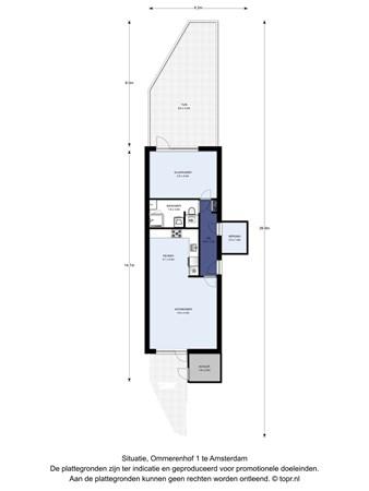Floorplan - Ommerenhof 1, 1106 XH Amsterdam
