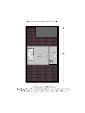 Floorplan - Griend 165, 1112 LB Diemen