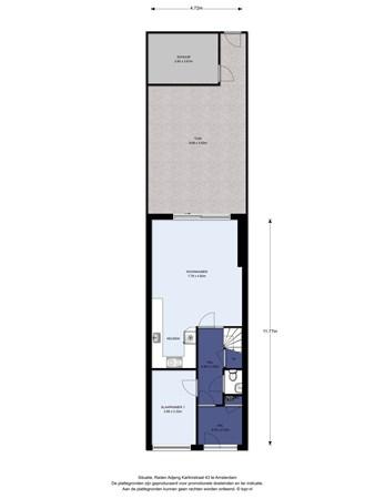 Floorplan - Raden Adjeng Kartinistraat 43, 1103 MG Amsterdam