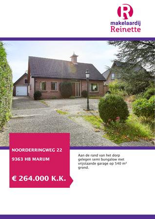 Brochure preview - Noorderringweg 22, 9363 HB MARUM (1)
