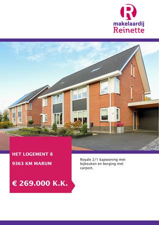 Brochure preview - Het Logement 8, 9363 KM MARUM (1)
