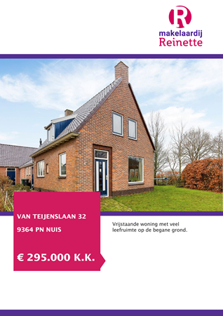 Brochure preview - Van Teijenslaan 32, 9364 PN NUIS (1)