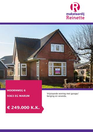 Brochure preview - Hoornweg 6, 9363 EG MARUM (1)