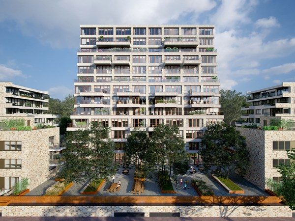 Has received an option.: Faas Wilkesstraat Construction number 72, 1095 MD Amsterdam