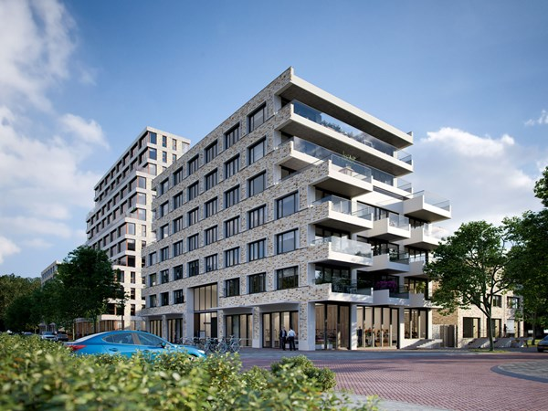 Has received an option.: WOON& bouwnummer Construction number 55, 1095 MD Amsterdam