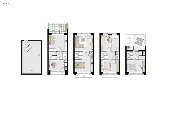 Medium property photo - Krommeniestraat 4f, 1013 XL Amsterdam