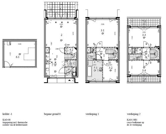 Floorplan - Krommeniestraat 81, 1013 XH Amsterdam