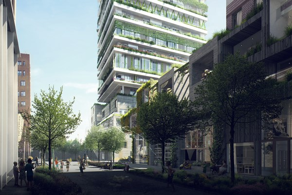 Hat eine Option erhalten.: Bau Anzahl 93, 1043 Amsterdam