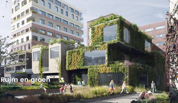 Has received an option.: Construction number 126, 1043 Amsterdam