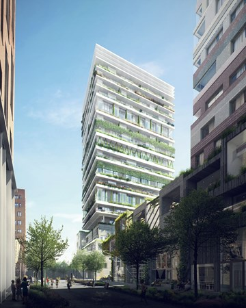 Has received an option.: Construction number 135, 1043 Amsterdam