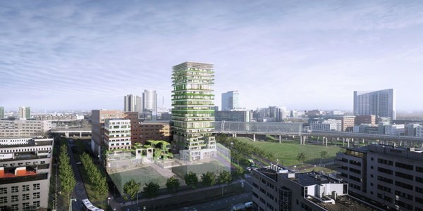 Has received an option.: Construction number 105, 1043 Amsterdam