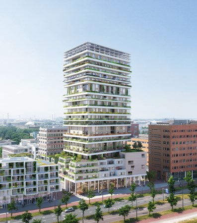 Has received an option.: Bouwnummer Construction number 38, 1043 Amsterdam