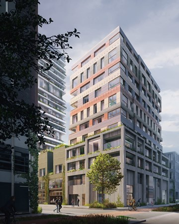 Medium property photo - Bouwnummer Bau Anzahl 110, 1043 Amsterdam