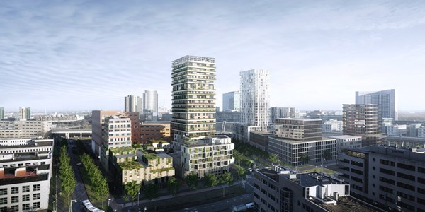 Has received an option.: Bouwnummer Construction number 104, 1043 Amsterdam