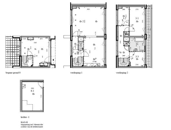 Floorplan - Krommeniestraat 61, 1013 XH Amsterdam