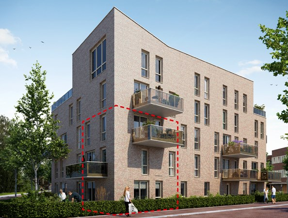 Sold: Bongerdkade Construction number 44, 1036 LZ Amsterdam