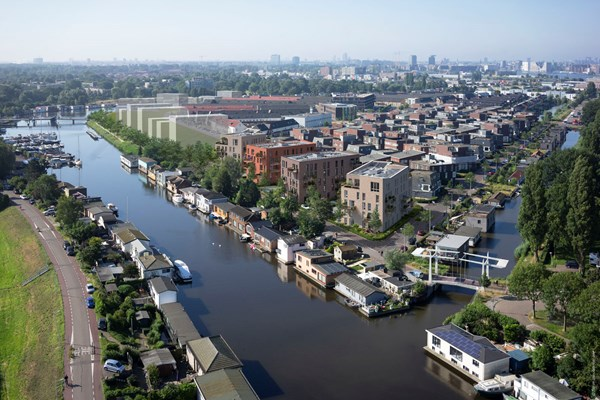 Sold subject to conditions: Bongerdkade Construction number 45, 1036 LZ Amsterdam
