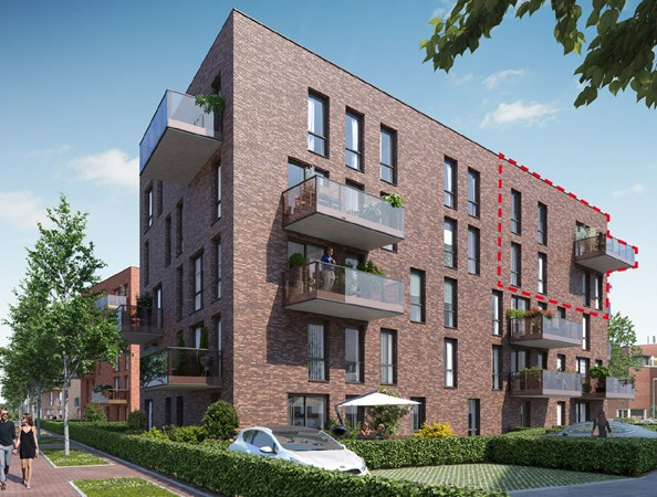 Sold subject to conditions: Bongerdkade Construction number 15, 1036 LZ Amsterdam