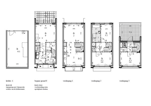 Floorplan - Construction number 66, Unknown