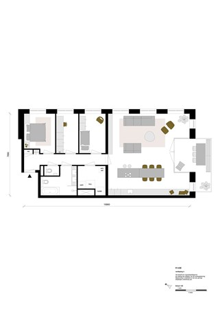 Floorplan - Rookmelderstraat 37, 1019 VS Amsterdam