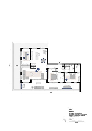 Floorplan - Rookmelderstraat 41, 1019 VS Amsterdam