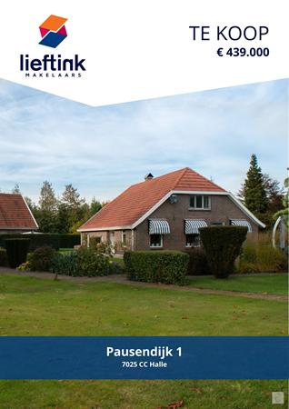 Brochure preview - Pausendijk 1, 7025 CC HALLE (1)