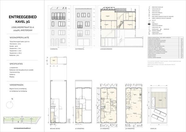 Floorplan - Ijsselmeerstraat 67A, 1024 ML Amsterdam