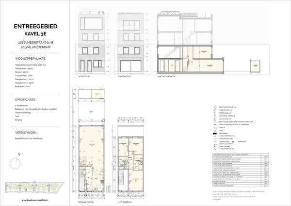 Floorplan - Ijsselmeerstraat 65B, 1024 ML Amsterdam