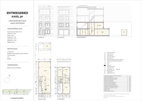 Floorplan - Ijsselmeerstraat 68B, 1024 ML Amsterdam