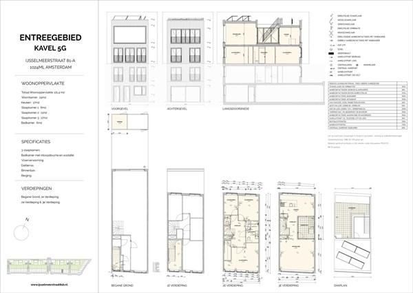 Floorplan - Ijsselmeerstraat 81A, 1024 ML Amsterdam