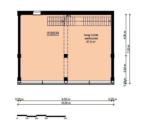 Floorplan - Ridderspoorweg 80, 1032 LL Amsterdam