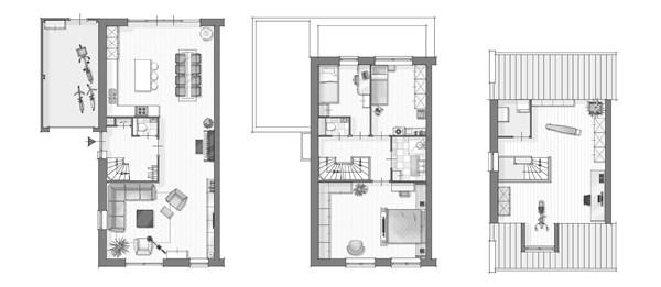 Floorplan - Purmerenderweg 61, 1445 AA Purmerend