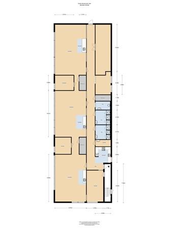 Floorplan - Rode Kruislaan 1260, 1111 XB Diemen