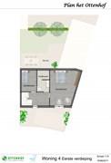 Optionele invulling eerste verdieping woning 4