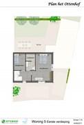 Optionele invulling eerste verdieping woning 5