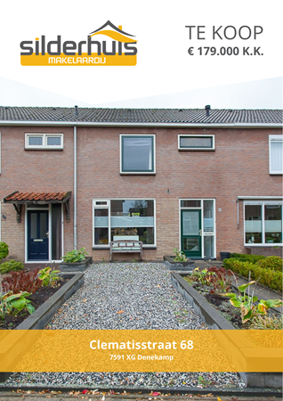 Brochure preview - Clematisstraat 68, 7591 XG DENEKAMP (1)